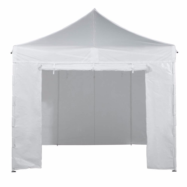 abba patio outdoor pop up portable and foldable canopy with 4 sidewalls 10 feet - Abba Patio