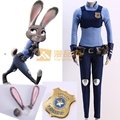 Zootopia Cosplay Costume Judy Hopps Outfits