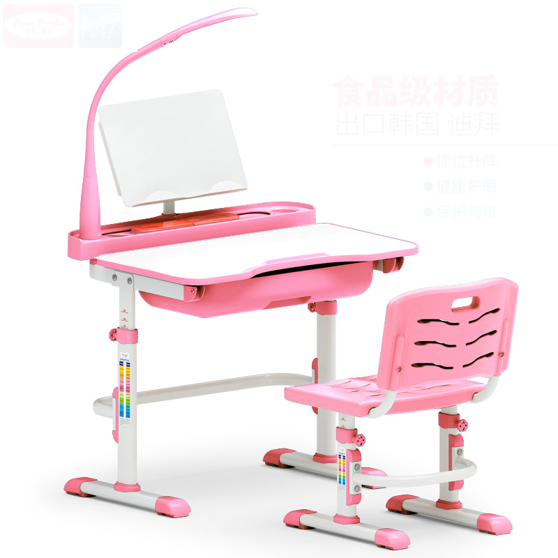 ... High Quality Adjustable Height Children Learning Desk And Chair Set For  Children Against Myopia Writing Desk ...