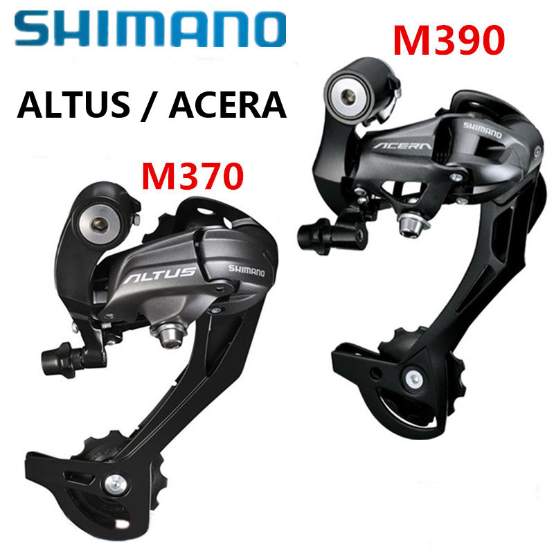 SHIMANO ALTUS/ACERA RD M370 M390 Deragliatore 9 Velocità Posteriore 3 s * 9 s 27 s Velocità Accessorio maiusc Shifter MTB Mountain Bike Parti di Biciclette