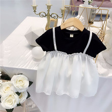 Girls Dress 2019 New Summer Clothes Mesh princess dress Design Baby Kids Dresses For  Wear 1 5 Years