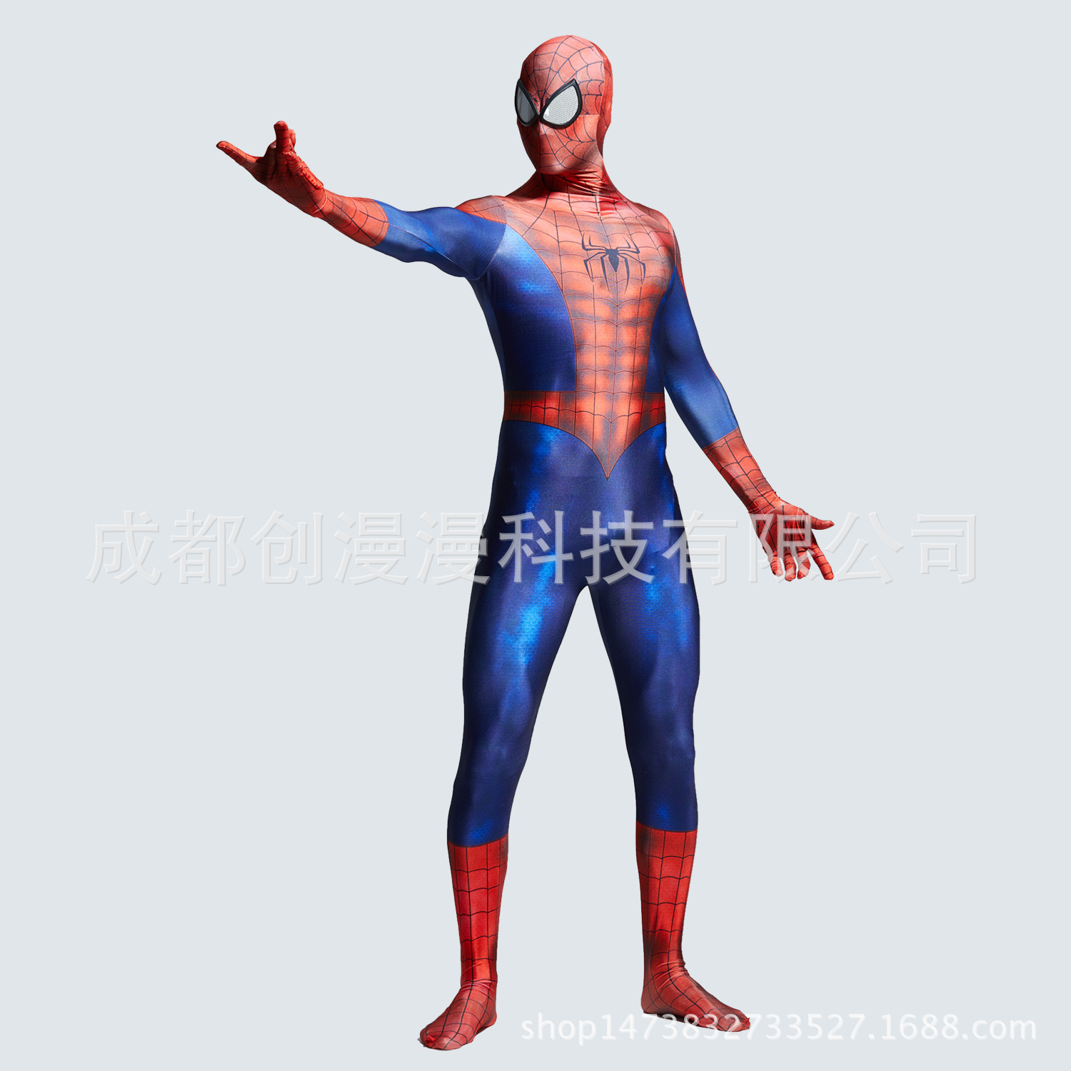 Hero Man jumpsuits Adult Spider-Man Costume Peter Parker Hero Bodysuit Comic Con Spider Man Jumpsuit Party Fancy Dress