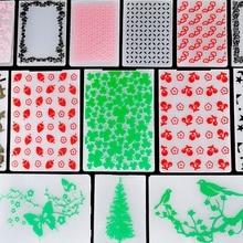 ZhuoAng Beautiful Heart &Birds Embossing Folder for Scrapbook DIY Album Card Tool Plastic Template