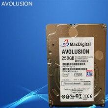 2.5 inç HDD 250 GB 5400 Rpm 16 M Laptop Notebook Için Buff SATA Dahili Sabit Disk Sürücüsü MaxDigital/MD250GB SATA 2.5 inç