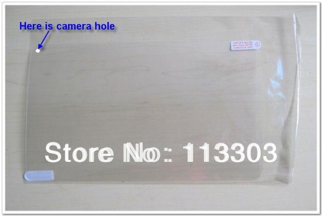 5 шт. Универсальный 9 дюймов ультра чистый Полный экран протектор с отверстием для камеры размер 232x141 мм для 9-дюймового планшетного ПК без розничной упаковки