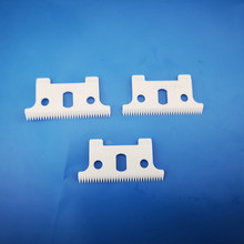 Free shipping 100pcs 32 teeth zirconia ceramic clipper blade fit Andis GTO GO SL and SLS trimmers(China)