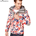 2017 Novos Homens de Pato Para Baixo Casaco Estande Inverno China Quente Dos Homens Jaqueta de Roupas de Marca Camuflagem Casacos Elegantes Tamanho M-3XL NSWT227