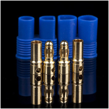 100pair lot EC3 Female Male Bullet Connector Plugs for Rc font b Battery b font