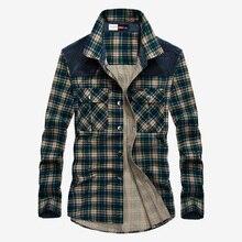 Camisa militar de algodón para hombre, camisa de manga larga, informal, a la moda, de cuadros verdes amarillos, para otoño