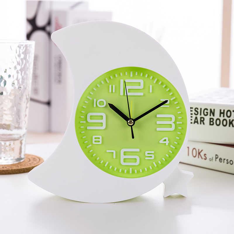 Jam Alarm permen warna jam Samping Tempat Tidur Jam Alarm malas orang indah multi fungsi mahasiswa lucu anak kartun alarm jam 1144