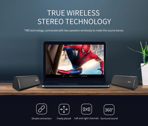 Image 5 - Mifa Portable Bluetooth speaker Portable Wireless Loudspeaker Surround Sound System 10W stereo Music Waterproof Outdoor Speaker