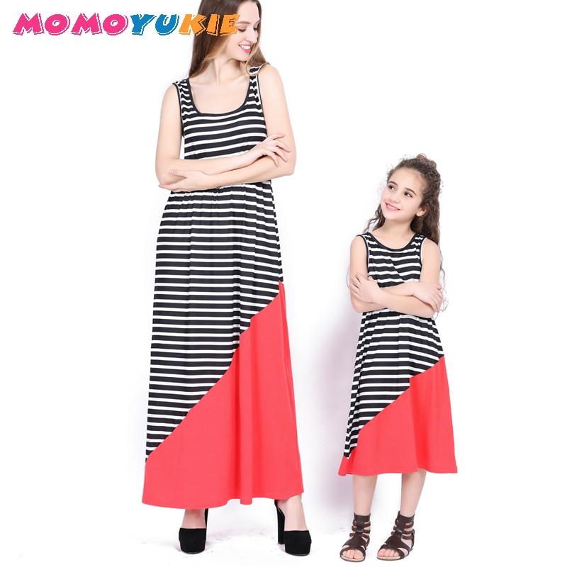 0d0a6301fa Pk Bazaar mother kids summer new mother daughter matching clot ...