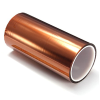 200mm 100ft High Temperature Heat Resistant Tape Polyimide Adhesive 20cm