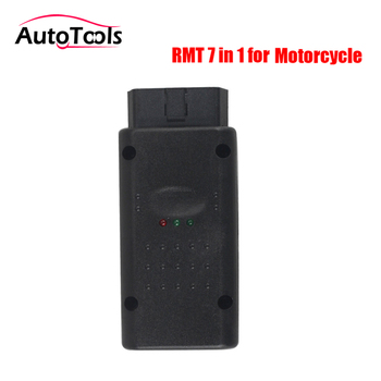 3pcs/lot via DHL free Classic 7 in 1 Multi-Brand Motorcycle code reader Scanner Motorbike Repair Diagnostic-tool RMT 7 IN 1