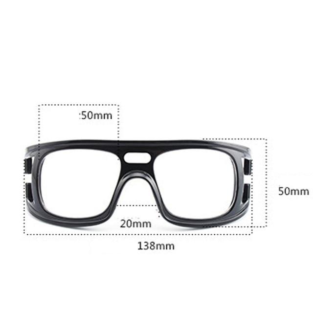 7981d428d95 Basketball Protective Glasses Outdoor Sports Goggles Football Mirror Male  Men Children Sports Glasses Prescription Lenses