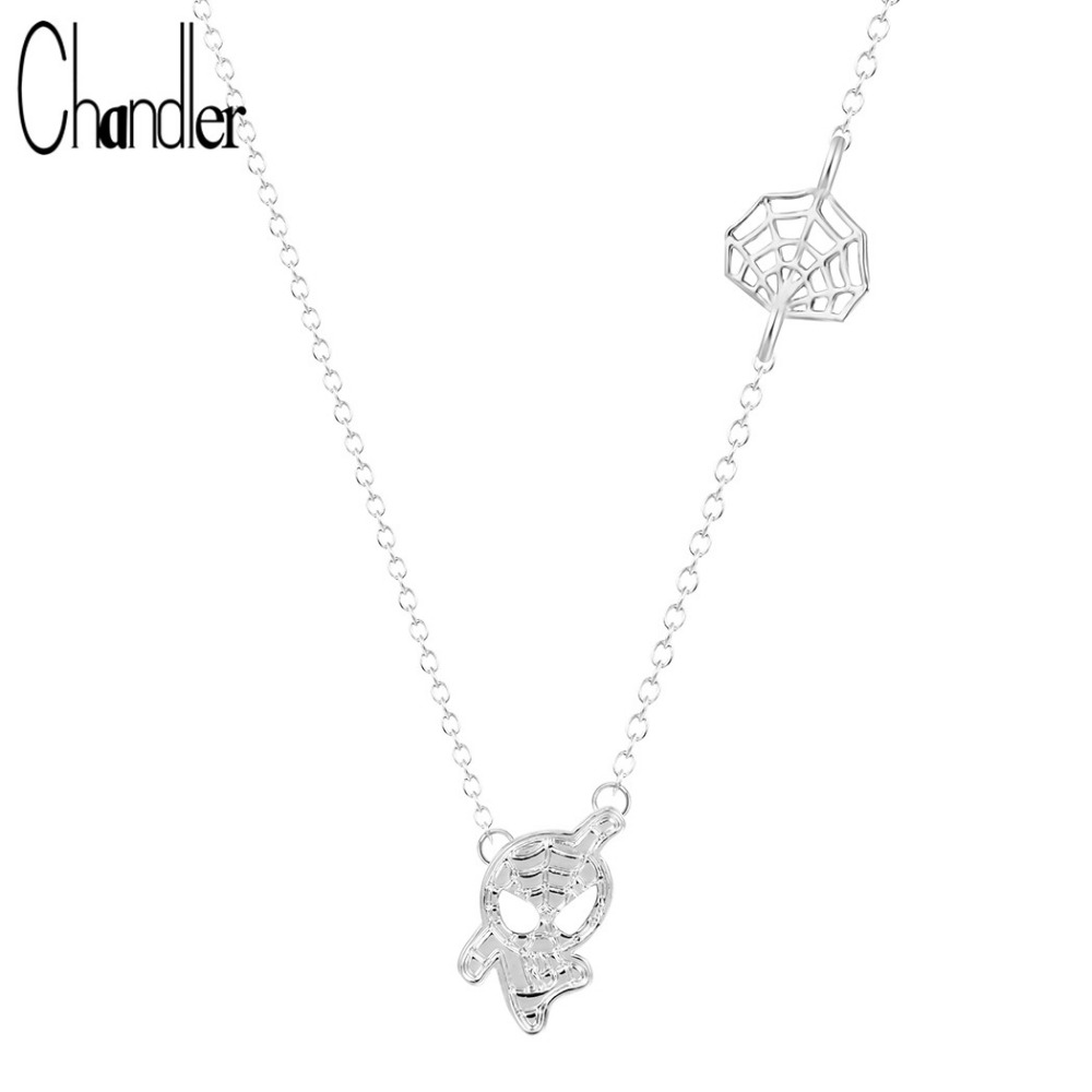 Fashion Jewelry ~ Crystal Spider Pendant Necklace for Women Girls Teens Girls Men Girlfriends Birthday All Occasions Gifts