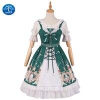 Sweet Lolita Dress Short Sleeve Dresses Girls JSK Princess Dress Gothic Dresses Lolita Jacket Fairy Kei Lolita Shirt Gothic