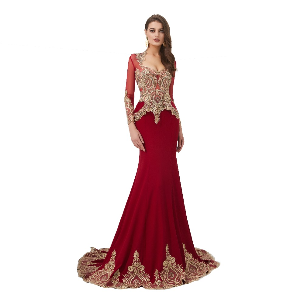 Luxury Long Evening Dress 2019 Elegent Gold Lace With Wrap Vestido De Festa Formal Dress Prom Dresses Robe De Soiree 59323