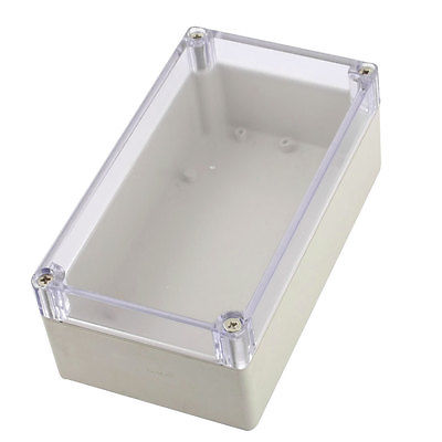 Waterproof Plastic Sealed Electric Junction Enclose Box 158mm x 90mm x 60mm