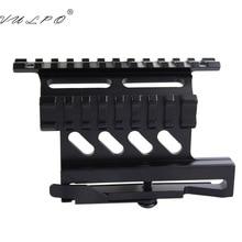 VULPO Tactical quick QD Style Rail Mount AK47 AK74 SAIGA Detach 20mm Weaver rail Side for Hunting Airsoft Scope