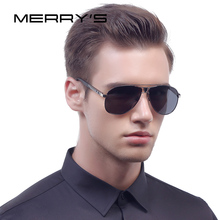 MERRY'S Fashion Brand HD Polarized Sunglasses Men Designer Male Eyewear Men's Sun Glasses Travel Oculos Gafas De Sol S'8086