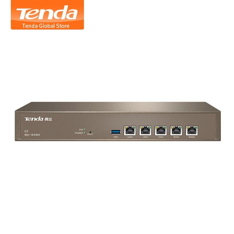 Tenda G3 Enterprise Router Multi WAN Ports PPTP L2TP IPSec VPN QoS Bandwidth Control AP Management