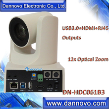 Free Shipping: DANNOVO USB3.0,HDMI,RJ45 IP UVC PTZ Camera for Video Streaming, Wide FOV 12x Zoom, Low Lux(DN-HDC061B3)