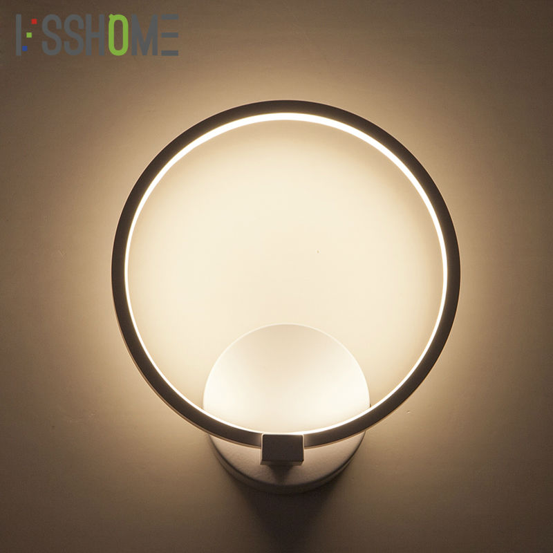 LED Wall Lamp Dimmable Lighting Segment 2.4G RF Remote Control Indoor Fixtures