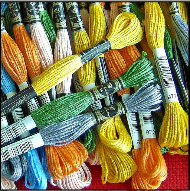 Available Total 447 Pieces Royal Thread A Full Set Embroidery Thread Cross Stitch Floss Thread Yarn