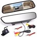 4.3 polegada TFT de Espelho Retrovisor Do Carro Monitor de Câmera de Visão Traseira CCD Vídeo Auto Estacionamento Assistência Visão Noturna Câmara de Marcha Do Carro-Styling