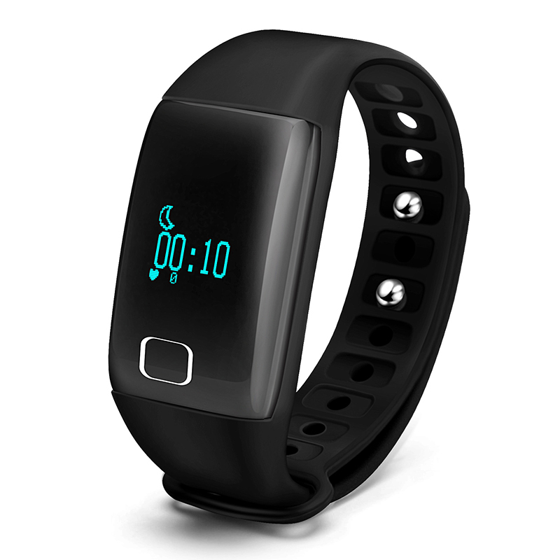 ФОТО New Heart Rate Smartband Smart Bracelet Smartwatch For Android IOS iPhone 7 6S Sport Fitness Tracker PK Xiao mi miband 2