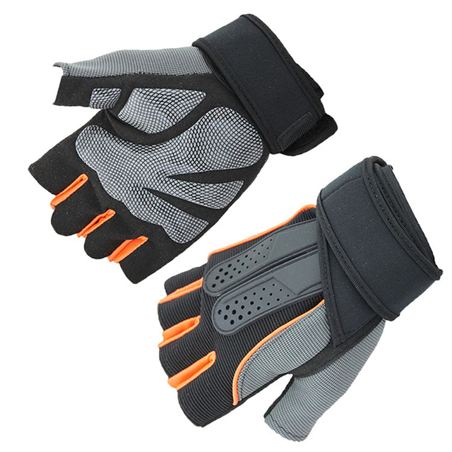 Aolikes USA Protective Gloves Fitness Dumbbell Training Equipment Strength