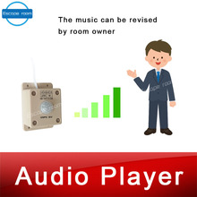 Audio sound player prop Takagism game real llive room escape play sound when detect human play audio music to create atmosphere real life escape room props puzzles flashlight laser shine to unlock with audio room escape games control 12v em lock