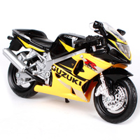 Maisto 1:18スズキgsx r600オートバイバイク