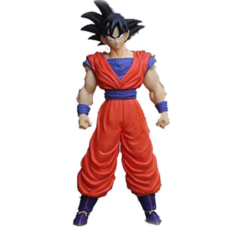 SAINTGI Goku Dragon Ball Z Action Figures Super Saiyan Son Kaiouken PVC 37cm Balloons Anime Juguetes Dragonball Esferas