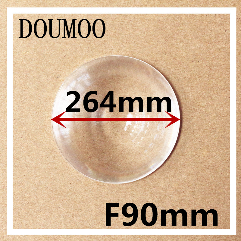 big size Fresnel lens Diameter 264 Focal length 90 mm magnifier lens traffic light led light support dropshipping fresnel lens