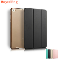 Ultrathin PU Fip Case For Xiaomi Mipad 3 Mipad 2 Case Smart Stand Cover With Automatic