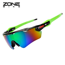 купить ZONEBIKE Cycling Sunglasses Sport Bike Glasses Gafas Deportivas Bicycle Goggles Eyewear Men Oculos Ciclismo Lunette Cyclisme дешево