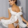 Сексуальное Нижнее Белье Кружева Ночное Белье Пижамы Сорочка Стринги Ночной Рубашке