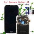 Original frete grátis para samsung galaxy siv s4 i9505 gt-i9505 lcd display tela sensível ao toque com a montagem do quadro + ferramentas gratuitas