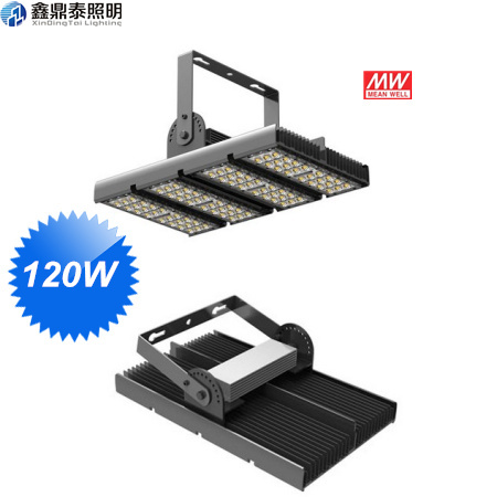 120W LED Street Tunnel Flood Light Meanwell Driver Bridgelux Led Chip Aluminum Housing 3 years warranty CE free shipping ce rohs ul dlc meanwell driver 100w led gas station light replacement 300mh hps 3 years warranty