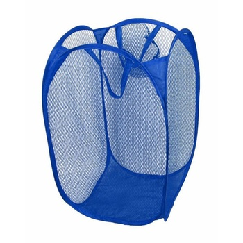 Mesh Fabric Foldable Pop Up Dirty Clothes Washing Laundry Basket Bag Bin Hamper Storage for Home Housekeeping Use laundry basket