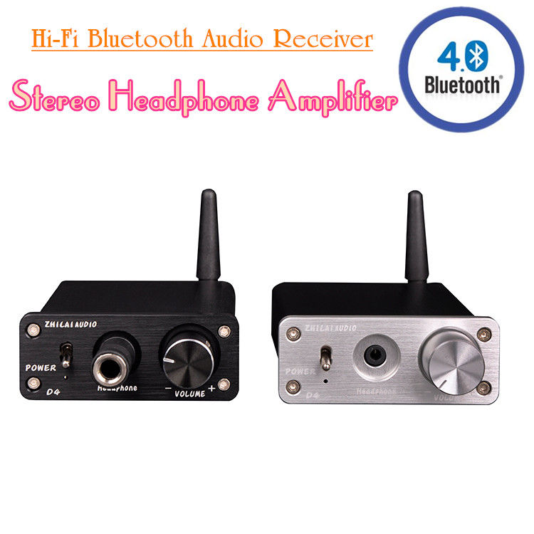 Hi-Fi Bluetooth 4.0 Audio Receiver Mini Stereo Headphone Home Amplifier Black/Silver Douk Audio cloud nine спрей эликсир для облегчения укладки волос magical quick dry potion 200мл