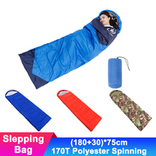 Portable 1kg Travel Camping Envelope Sleeping Bag Outdoor Waterproof Sleep Beds Compression Lightweight Hiking