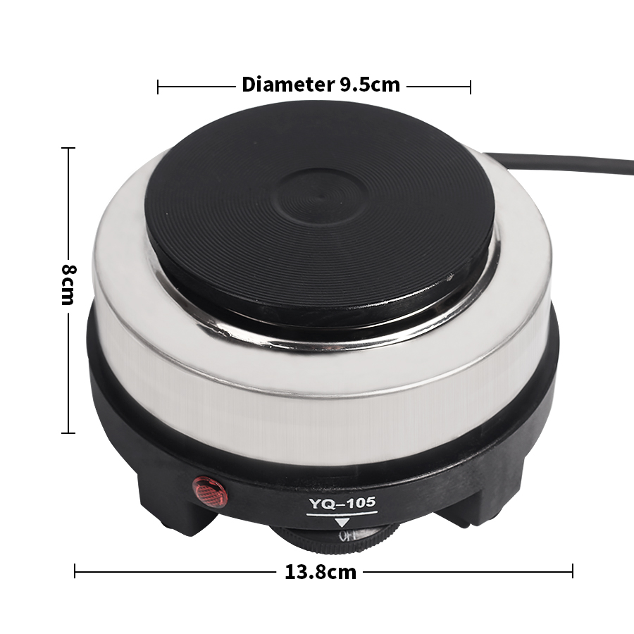 Mini Electric Stove Hot Plate Cooking Plate Multifunction Coffee Tea Heater Mocha Milk Making Oven 500W EU US