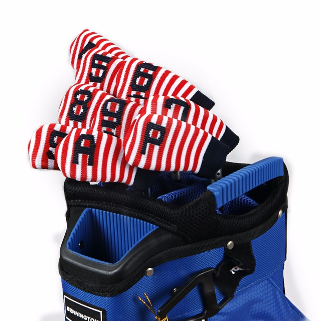 Golf Irons Headcover Knitting wool headcover golf irons prtcoer covers 10ps/set