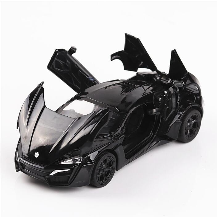1: 32 Speed and Passion Leken Dubai supercar the car model