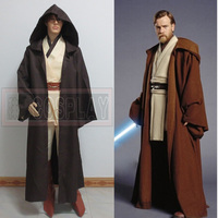 Free Shipping Star Wars Costume Jedi Knight Cosplay Costume