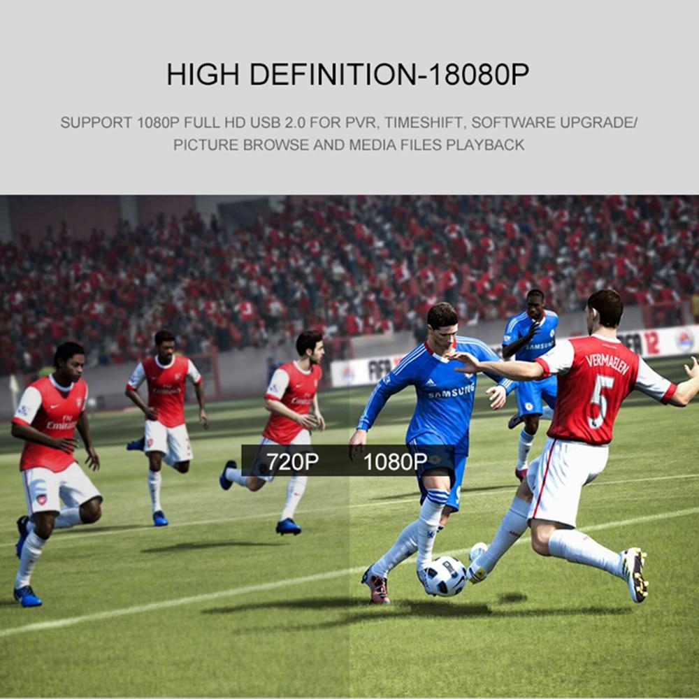 DVB T2 DVB S2 livre caixa de