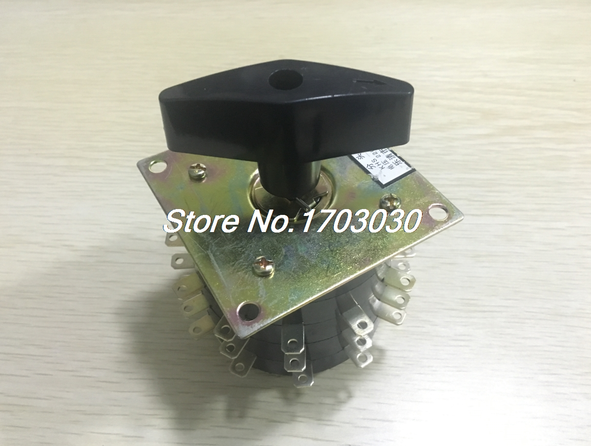 380V 15A 36 Terminals Rotary Changeover Switch for Electric Welding Machine 660v ui 10a ith 8 terminals rotary cam universal changeover combination switch